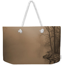 Misty River - Vintage  Weekender Tote Bag