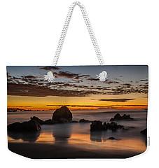 Misty Seascape Weekender Tote Bag