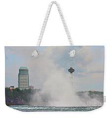 Misty Skylon Weekender Tote Bag