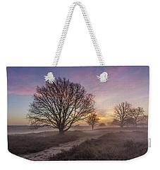 Misty Sunrise Weekender Tote Bag
