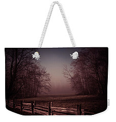 Misty Walk Weekender Tote Bag