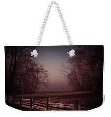 Misty Walk Weekender Tote Bag