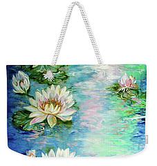 Misty Waters Waterlily Pond Weekender Tote Bag