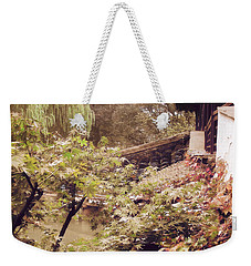 Misty Willows Weekender Tote Bag by Ivy Ho