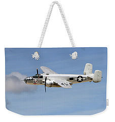 Mitchell In The Sky Weekender Tote Bag