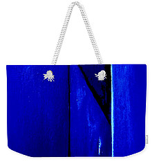 Mitre In Blue - Abstract Weekender Tote Bag