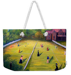 Mixed Doubles Weekender Tote Bag by Gail Kirtz