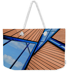 Mixed Perspective Weekender Tote Bag