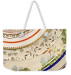 Mixed Plates Weekender Tote Bag