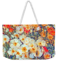Mixed Poppies Weekender Tote Bag