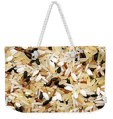 Mixed Rice Weekender Tote Bag