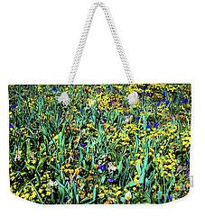Mixed Wildflowers In Texas Weekender Tote Bag