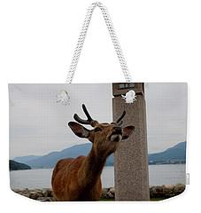 Miyajima Deer Weekender Tote Bag