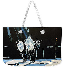 Mj On His Toes Weekender Tote Bag