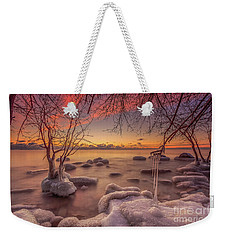 Mke Freeze Weekender Tote Bag