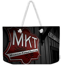 Mkt Railroad Lines Weekender Tote Bag