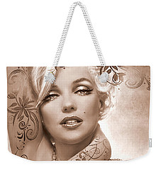 Mm 127 Deco Sepia Weekender Tote Bag