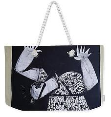 Mmxvii Warning  Weekender Tote Bag