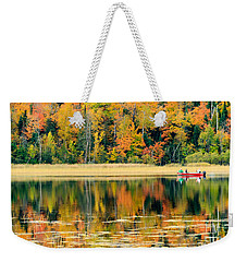 Mn Fall Fishing Weekender Tote Bag