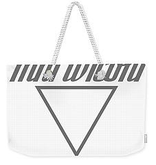 Mni Wiconi Weekender Tote Bag