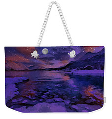 Mnon Over The Frozen Lands Weekender Tote Bag