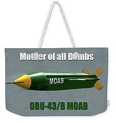 Weekender Tote Bag featuring the painting Moab Gbu-43/b by David Lee Thompson