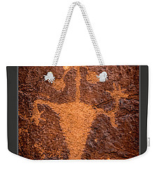 Moab Man Poster Weekender Tote Bag by Gary Whitton