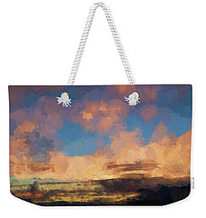 Moab Sunrise Abstract Painterly Weekender Tote Bag
