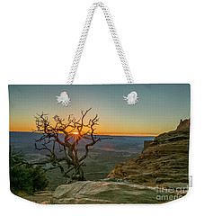 Moab Tree Weekender Tote Bag