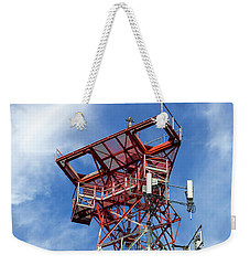 Mobile Phone Cellular Tower Weekender Tote Bag