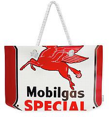Mobilgas Vintage 82716 Weekender Tote Bag