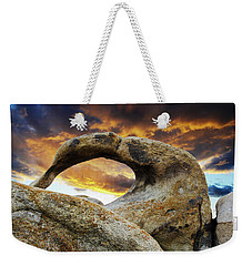 Mobious Arch California 7 Weekender Tote Bag by Bob Christopher