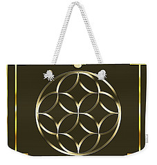 Weekender Tote Bag featuring the digital art Mocha 3 by Chuck Staley