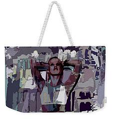 Mocha Musing Weekender Tote Bag by Tlynn Brentnall