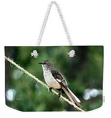 Mockingbird On Rope Weekender Tote Bag