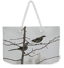 Mockingbirds Talk It Out Weekender Tote Bag