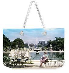 Model Sailboat Basin, Paris Weekender Tote Bag