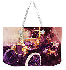 Model-t Commercial Roadster Weekender Tote Bag
