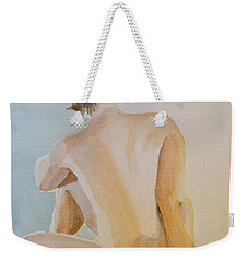 modell akvarell 2013 04 20-21 1 foto 143 Up to 51 x 76 cm Weekender Tote Bag