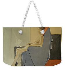 Modell Akvarell 2013 06 15-16 133 Weekender Tote Bag