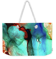 Modern Abstract Art - Color Rhapsody - Sharon Cummings Weekender Tote Bag by Sharon Cummings