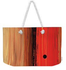 Modern Art - The Power Of One Panel 1 - Sharon Cummings Weekender Tote Bag by Sharon Cummings