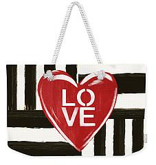 Modern Love- Art By Linda Woods Weekender Tote Bag