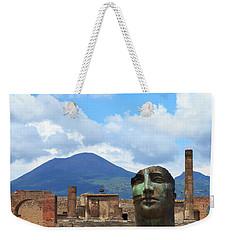 Modern Pompeii Art With Mount Vesuvius Weekender Tote Bag