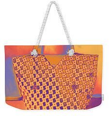 Modern Shopping Bag Weekender Tote Bag