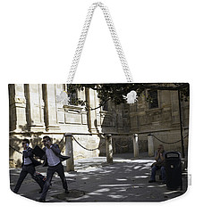 Weekender Tote Bag featuring the photograph Modern Times 2 - Sevilla by Madeline Ellis