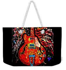 Modern Vintage Guitar Weekender Tote Bag