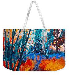Modern Woods Weekender Tote Bag