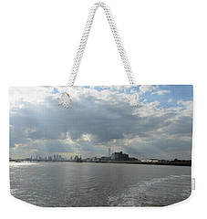 Moggy Afternoon On The Woolwich Ferry Crossing - London Weekender Tote Bag