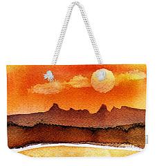 Mohavae Moon Weekender Tote Bag